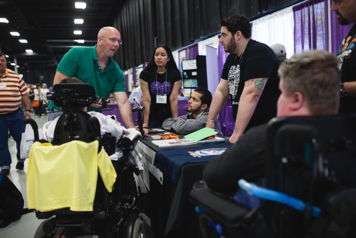 AbleGamers Team at the 2015 New York Abilities Expo