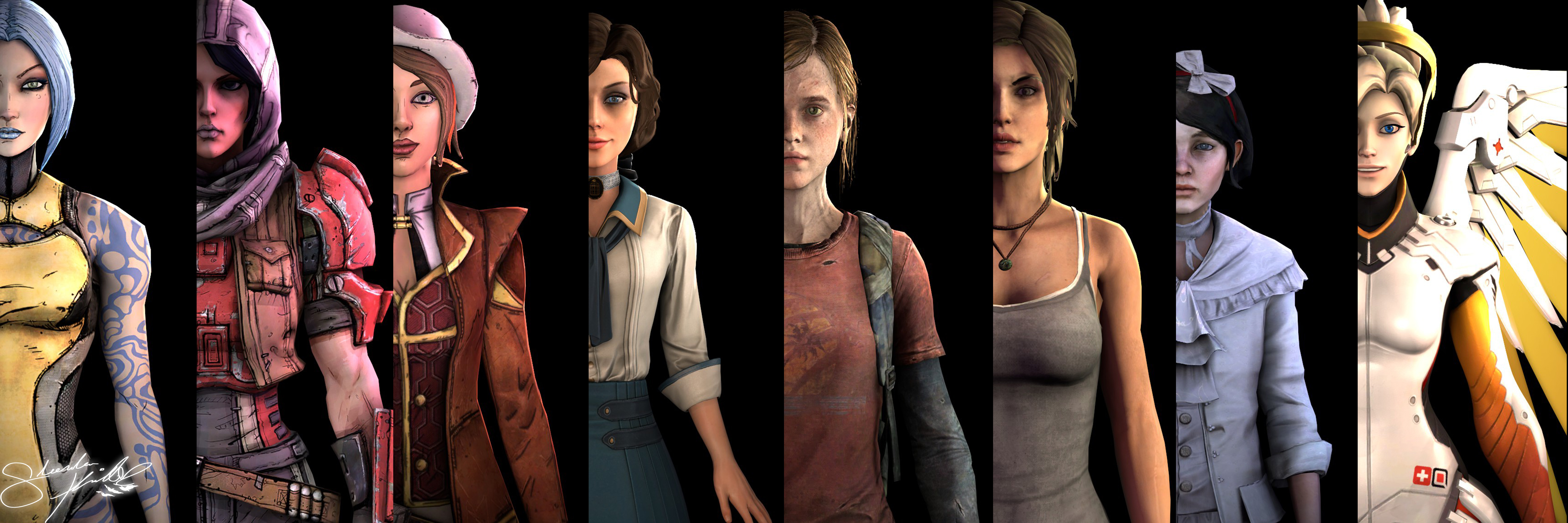 Female characters games