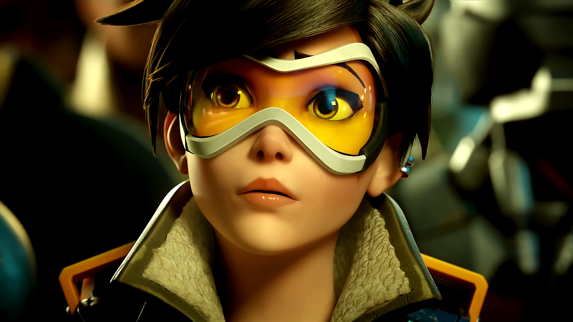 Overwatch Tracer close up