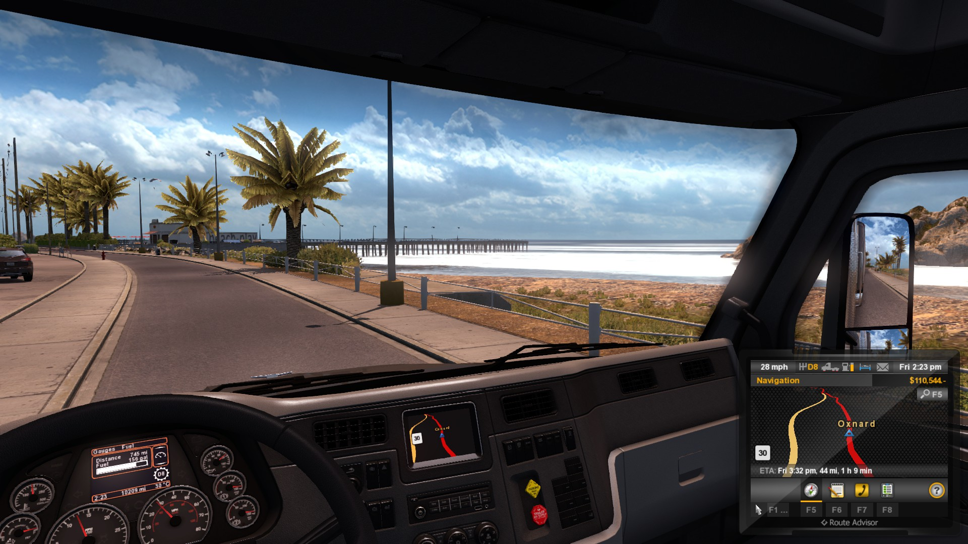 American Truck Simulator and Depression