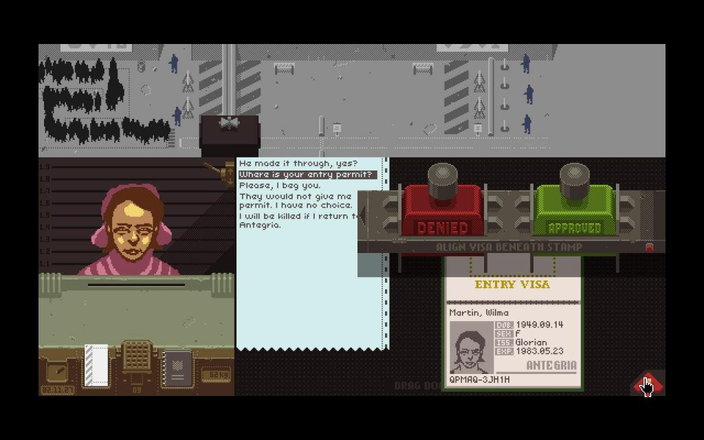 papers please post-escapism, post-escapism video games