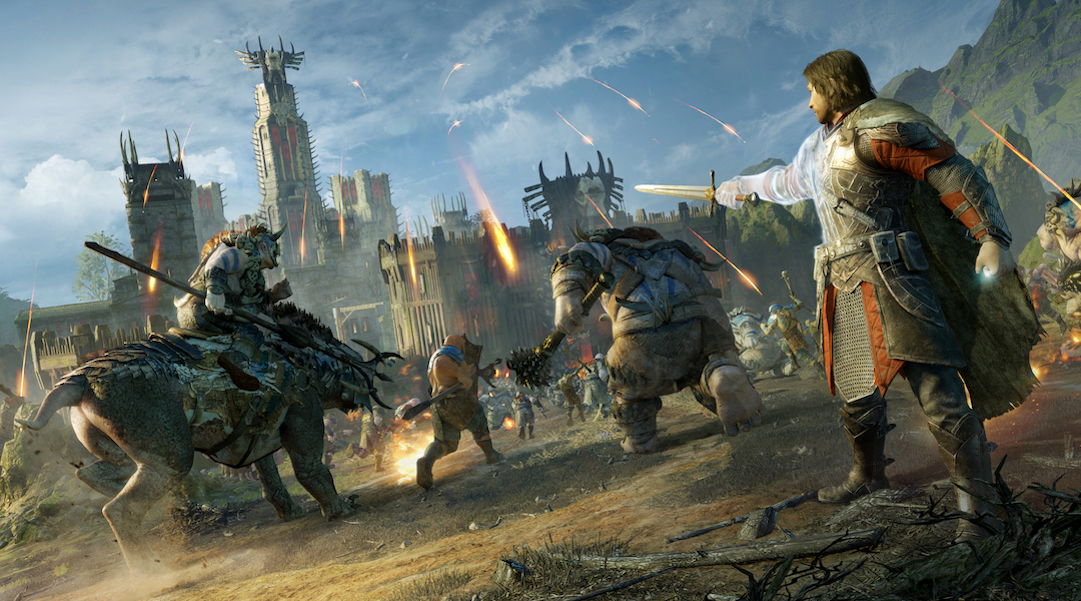 Middle-earth Shadow of War orc army