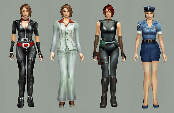Alternate Costume Jill RE3