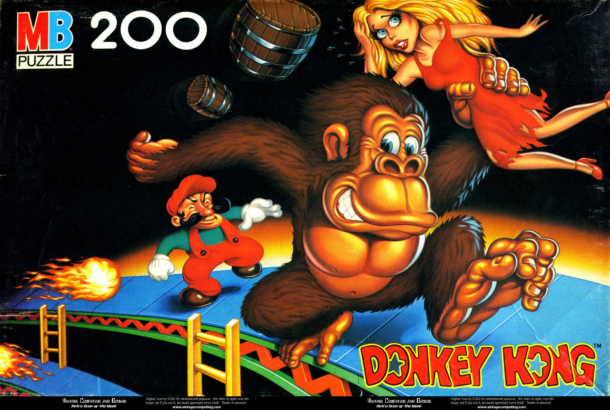 Donkey Kong Puzzle