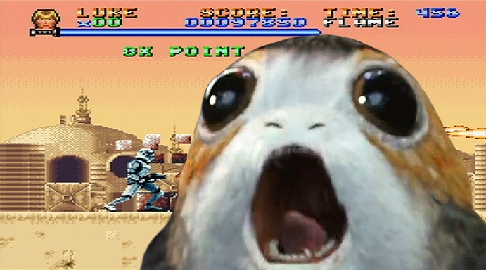 Star Wars Games Porgs