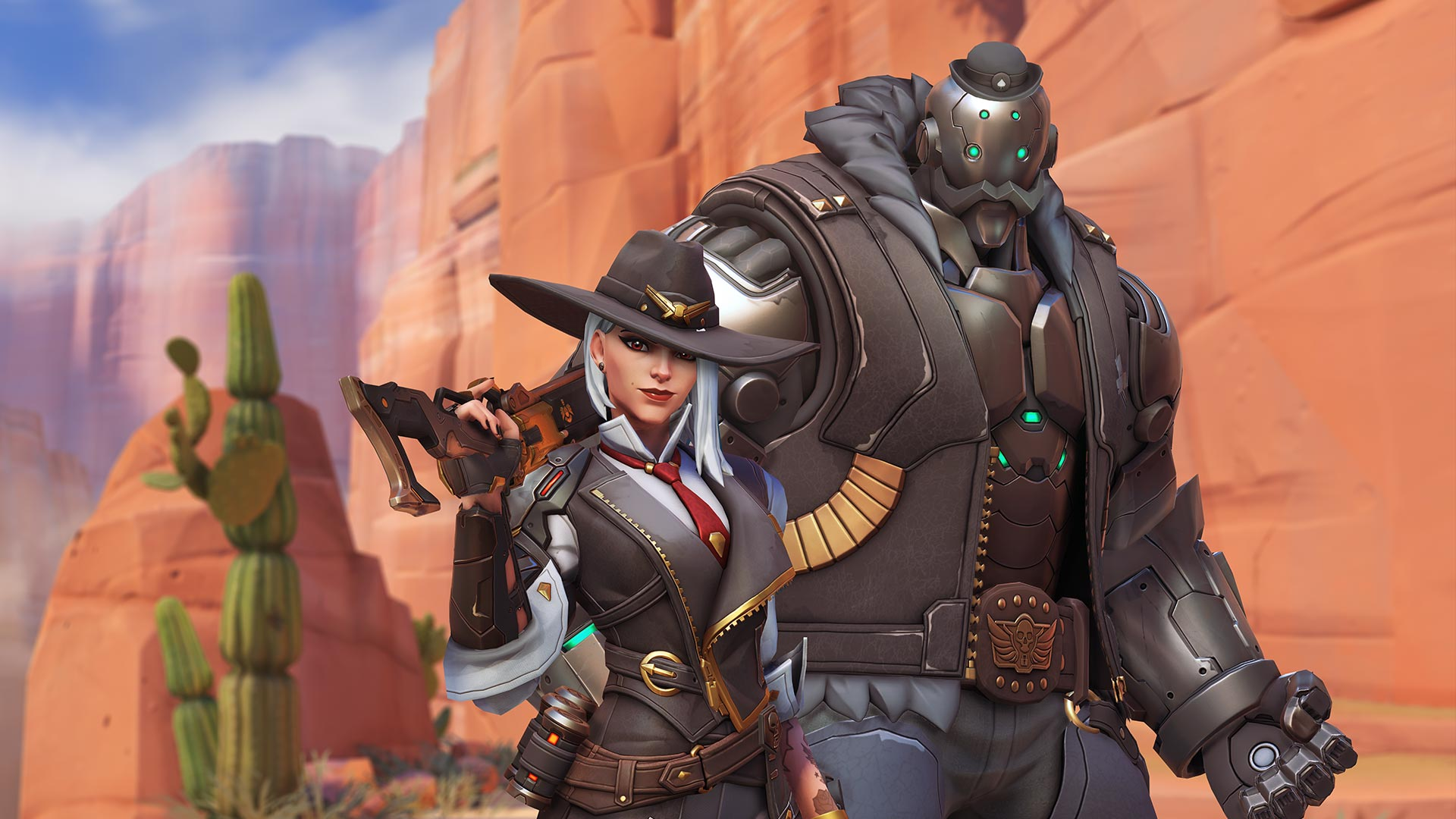 Ashe, the 29th hero of Overwatch