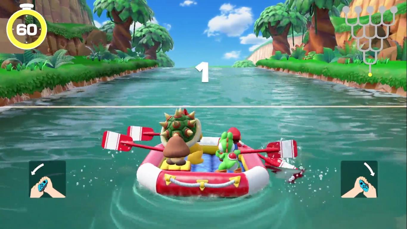 """Mario Party """"River Survival"""""""