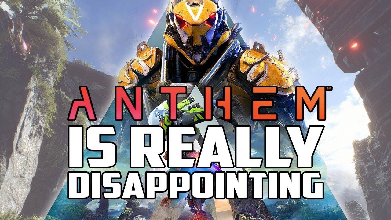 anthem video game reviews