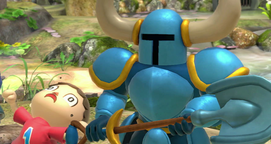 Indie favorite Shovel Knight in Super Smash Bros Ultimate