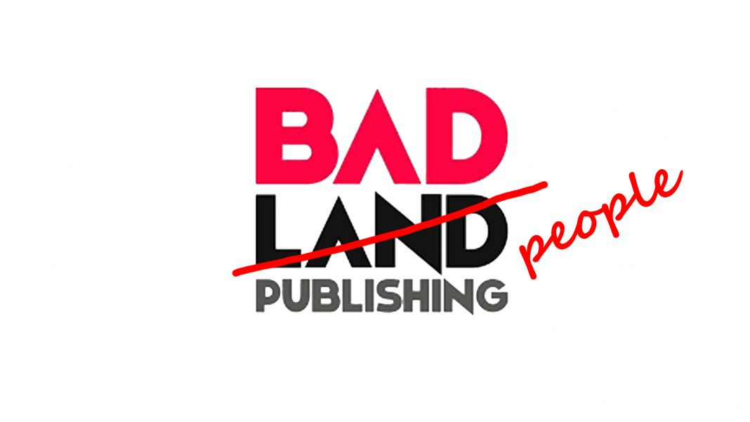 BadLand Logo - Modified